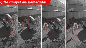 Antalyada çifte cinayet anı kamerada