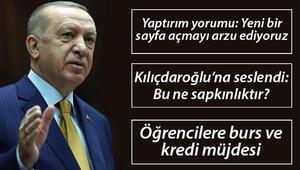 Cumhurbaşkanı Erdoğandan AİHMnin Demirtaş kararına tepki