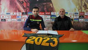 Son dakika | Alanyaspor, Tzavellasın sözleşmesini uzattı 2023e kadar...