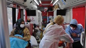 İslahiyede 50 ünite kan bağışı yapıldı