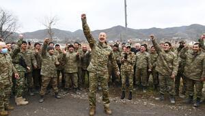 Gubadlıda zafer coşkusu Aliyev: Sahtekarlar, hırsızlar, yalancılar ve vahşiler...