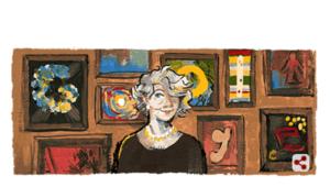 Sanatçı Aliye Berger kimdir Google Aliye Bergeri doodle yaptı