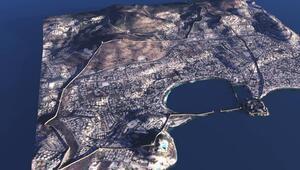Bodrumda 2400 yıllık Tarihi Halikarnassos Surları gün yüzüne çıkıyor
