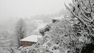 Rizede kar yağışı; 89 köy yolu kapandı