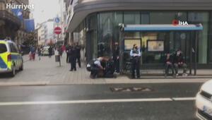 Almanya'da başörtülü kadına polis şiddeti kamerada