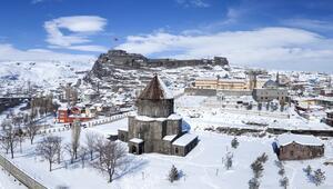 Türkiyede kışın parlayan yıldızı: Kars