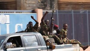 Orta Afrika Cumhuriyeti'nde eski lider François Bozize'nin evi yakıldı
