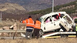 Kastamonu'da korkunç kaza 2 kişi hayatını kaybetti