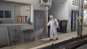Tarsus Sanayi Sitesi, dezenfekte edildi