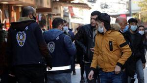 Yüzlerce kişiye koronavirüs cezası kesilen Gaziantepte çarşılar yine kalabalık