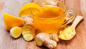 Gribe karşı birebir Zencefil çayı, pek çok derde deva...