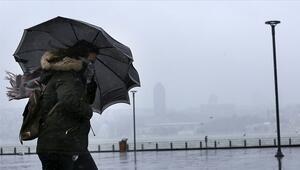 Marmara ve Kuzey Ege için fırtına uyarısı.. İl il günlük hava durumu raporu