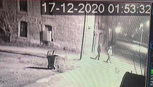 Hırsızlar klima motorunu ikinci gelişlerinde çaldı