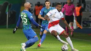 Rizespor 2-1 Antalyaspor / Maçın özeti ve goller