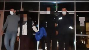 Keşanda, depodan 10 teneke zeytin çalan 3 şüpheli tutuklandı