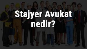 Stajyer Avukat nedir, ne iş yapar ve nasıl olunur Stajyer Avukat olma şartları, maaşları ve iş imkanları