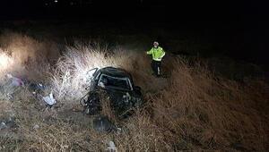 Erzincanda korkunç kaza 2 ölü, 2 yaralı