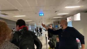 Sabiha Gökçen Havalimanı'nda yolcular ile görevliler arasında korona testi tartışması