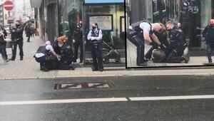 Son dakika haberi: Almanyada başörtülü kadına polis şiddeti infial yaratmıştı... Kimliği ortaya çıktı