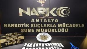 Antalyada uyuşturucu operasyonu: 1 tutuklama