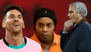 Jose Mourinhonun Barcelona raporu 15 yıl sonra ortaya çıktı Messi ve Ronaldinho...