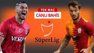 Galatasaray, Trabzona 7 eksikle gitti Dev maçın iddaada favorisi...