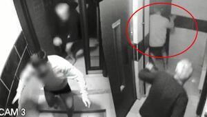 Uyanan ev sahibi hırsızları böyle kovaladı