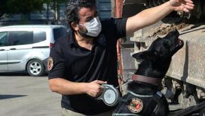 Benzin deposu kapağına gizlenen esrarı, Uzi buldu