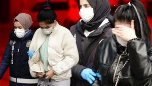 Konyada fuhuş operasyonu: 5 şüpheli yakalandı
