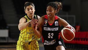 Çankaya Üniversitesi 86-75 Bellona Kayseri Basketbol