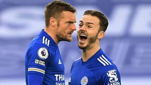 Leicester City ile Manchester United yenişemedi 4 gol...