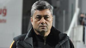 Galatasarayda Levent Şahinden galibiyet yorumu Beklediğimizden kolay geçti