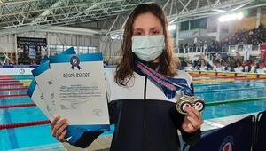 Milli yüzücü Merve Tuncel, olimpiyat A barajını geçti