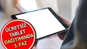 MEB ücretsiz tablet başvurusu nasıl yapılır 500 bin ücretsiz tablet dağıtımında 3. faz başladı