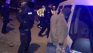 Polisten kaçtı, yakalanınca ağlamaya başladı