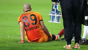 Galatasaray çalışmalarına ara vermedi Feghoulinin son durumu...