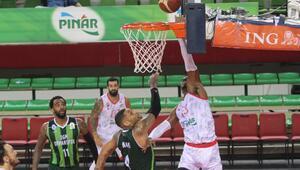 Basketbol Süper Ligi | Pınar Karşıyaka-OGM Ormanspor: 86-57