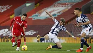 Lider Liverpool, ilk kez sahasında puan kaybetti
