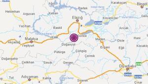 Son dakika deprem Elazığda 3.7 büyüklüğünde deprem