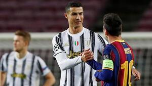 Barcelonada Lionel Messiden Cristiano Ronaldo sözleri Hayranım...