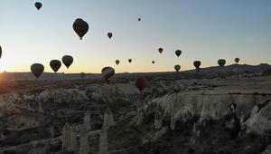 Kısıtlama ile birlikte Kapadokya turistlere kaldı