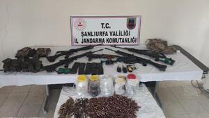 Şanlıurfada kaçak silah ve uyuşturucu operasyonunda 5 tutuklama