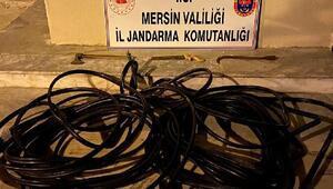 Vatandaşı iletişimsiz bırakan hırsızlar kaçamadı