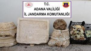 Adanada Roma dönemine ait tarihi eserler ele geçirildi