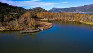 Kovada Gölü Milli Parkı, hayran bırakıyor