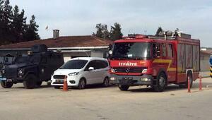 Gaziantepte cezaevinde yangın tatbikatı