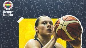 Son dakika | Alina Iagupova yeniden Fenerbahçe Öznur Kabloda