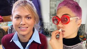 Hayat Bilgisinin Barbie Gamzesi İpek Erdem saçlarını boyattı