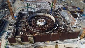 Akkuyu Nükleer Güç Santralinde önemli aşama kaydedildi
