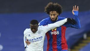 Leicester City, Crystal Palace deplasmanından 1 puanla ayrıldı
